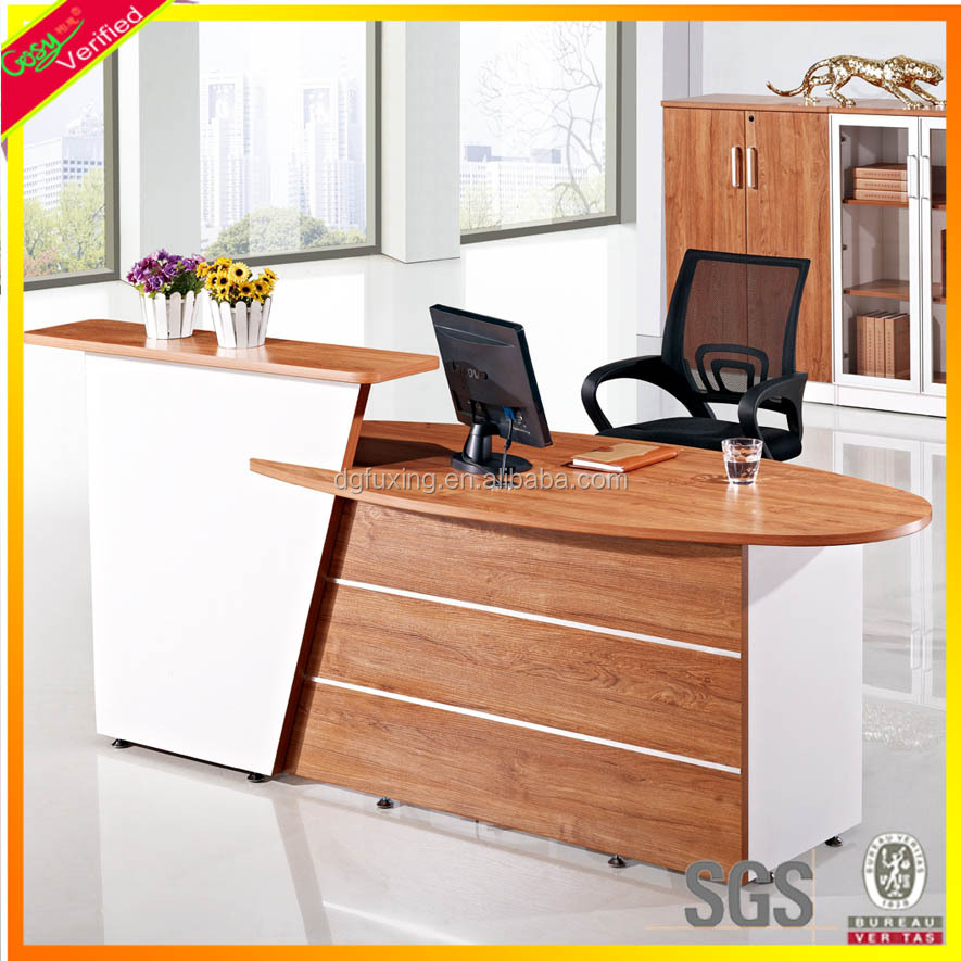 Amazing New Design And Fashion Office Furniture Wooden Reception Counter Largest Home Design Picture Inspirations Pitcheantrous