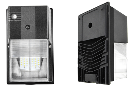 LUXINT Approved IP65 LED Wall Pack Light 30 Watt With High Light Efficiency