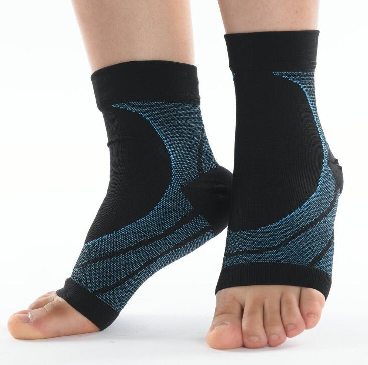 Breathable Easy to wear Knitted Elastic ankle braces ankle support private label