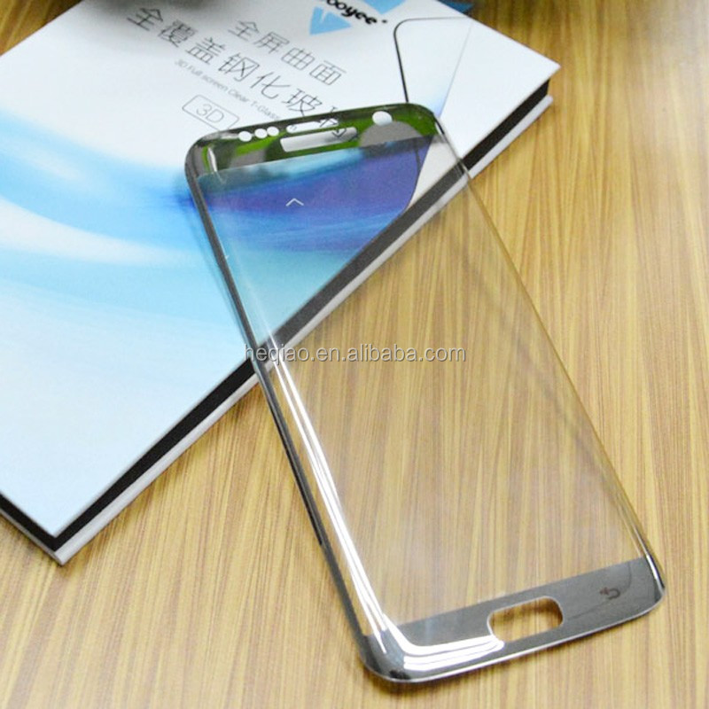 New Arrival:Factory supply high quality curved edge, 9H Tempered Glass for Samsung S7 edge