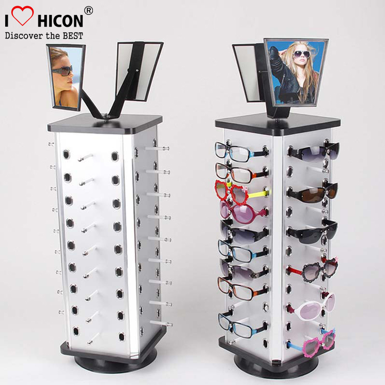 87c1d507daf0 Increase Your Sales Sunglasses Shop Desktop Stand With Mirror Metal  Lockable Eyewear Display Rotating Stand - Buy Sunglass Display Rotating  Stand