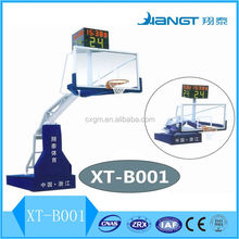 new design high quality sports Facilities Electric Hydraulic Basketball stand