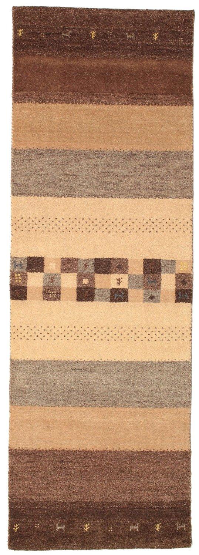 """Gabbeh Indo rug 2'7""""x8'1"""" (80x246 cm) Oriental, Runner Carpet"""