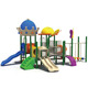 Children outdoor gymnastic equipment children plastic slides kids cheap outdoor playground