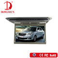 large size 14'' overhead car usb lcd mounted monitor with mirror link hdmi function
