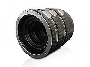 Macro Extension Tube Set for Nikon D800, D800e, D810, D810A