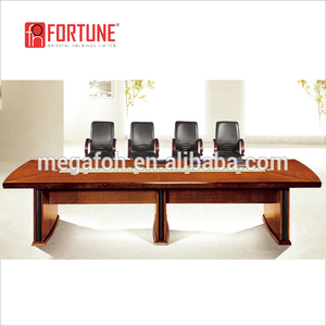 Solid wood modular design luxury conference table office furniture(FOH-C4840)