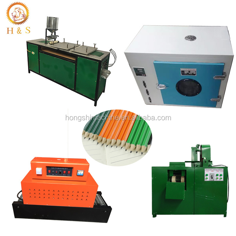 Lood papier potlood rolling machine gerecycled afval papier potlood making machine