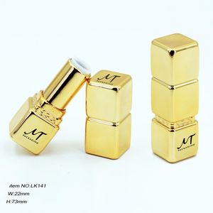 Empty Tube Lipstick Casing Gold Container Lipstick To Make Your Own