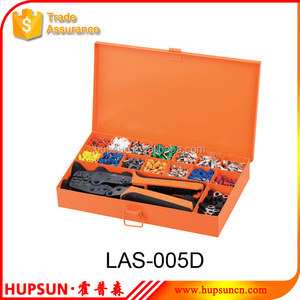 LAS-005D crimping tool and connectors tool kit set