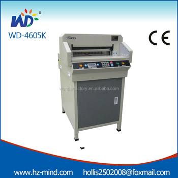 China Professional Manufacturer Wd 4606k 4605k Small Digital Control Office Equipment Paper Cutting