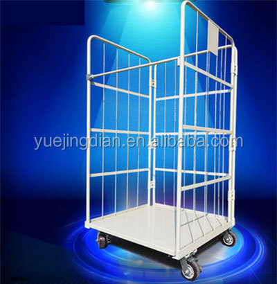 Logistics pallet display rack pick up truck Warehouse tidy cart storage cage