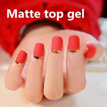 Matt Nail Gel Topcoat Matte Surface Top Polish