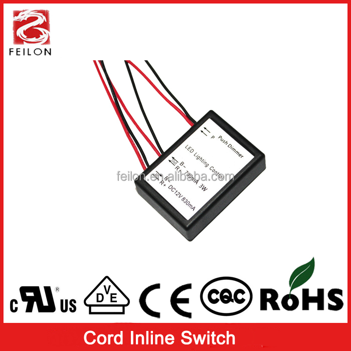 DC9-24V touch dimmer switch led dimming on off switch