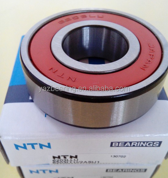 Japan bearing NTN deep groove ball bearing 6203LLU