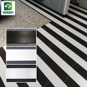 vintage black and white porcelain ceramic floor tiles non slip rectangle wood texture style ceramic floor tiles 150 800