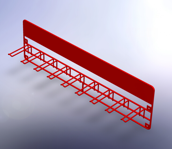 Hooks Amp Rails For Display Rack And Stand Wall Mounted