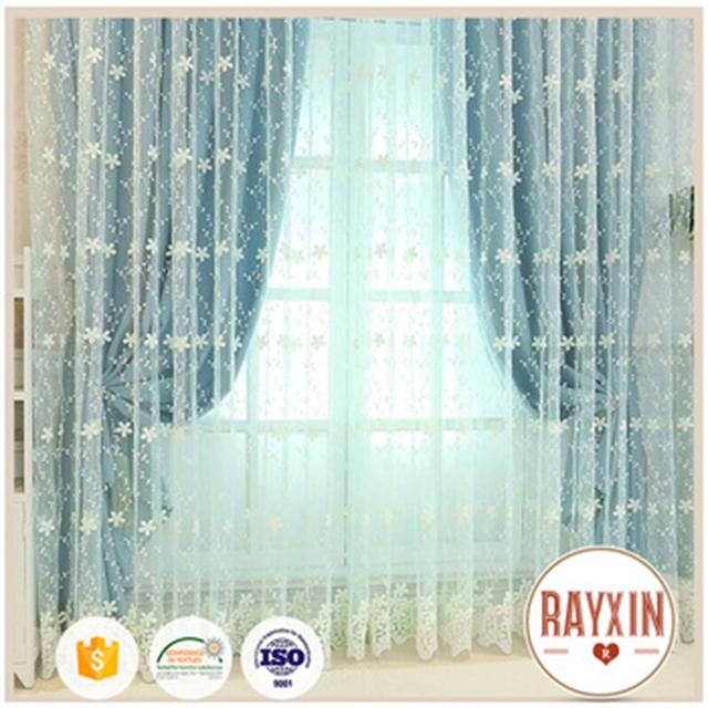 Quality Design Zunyue Curtain Fabric Laser Cut Decoration Wedding