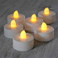 LED Flameless Tealight Candle for wedding or holiday decoration / Cheap LED Tea Candle ilght