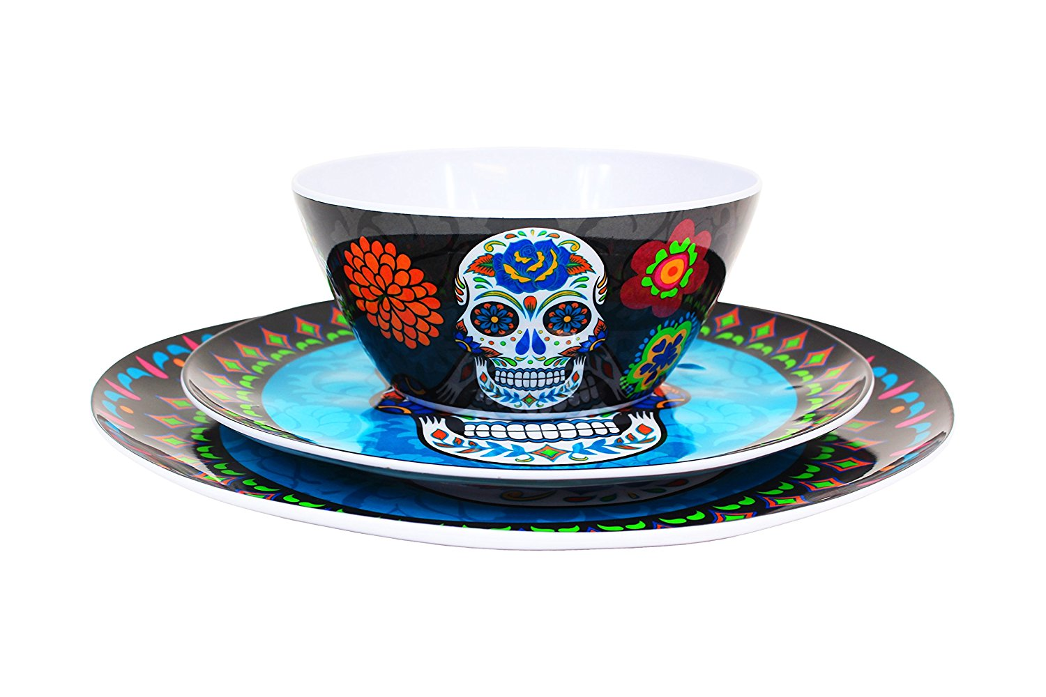 Get Quotations · Plastic Sugar Skull Day of the Dead Blue Plate Set  sc 1 st  Alibaba & Cheap Blue Plate Set find Blue Plate Set deals on line at Alibaba.com