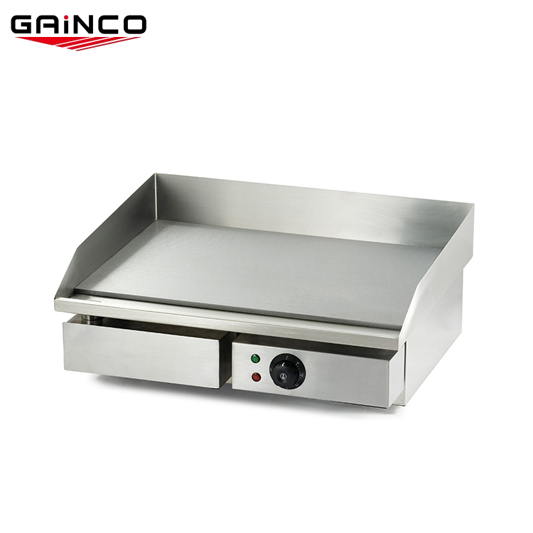 Commercial counter - top ไฟฟ้าแบนย่าง guangdong