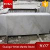 China good quality pure white marble slab