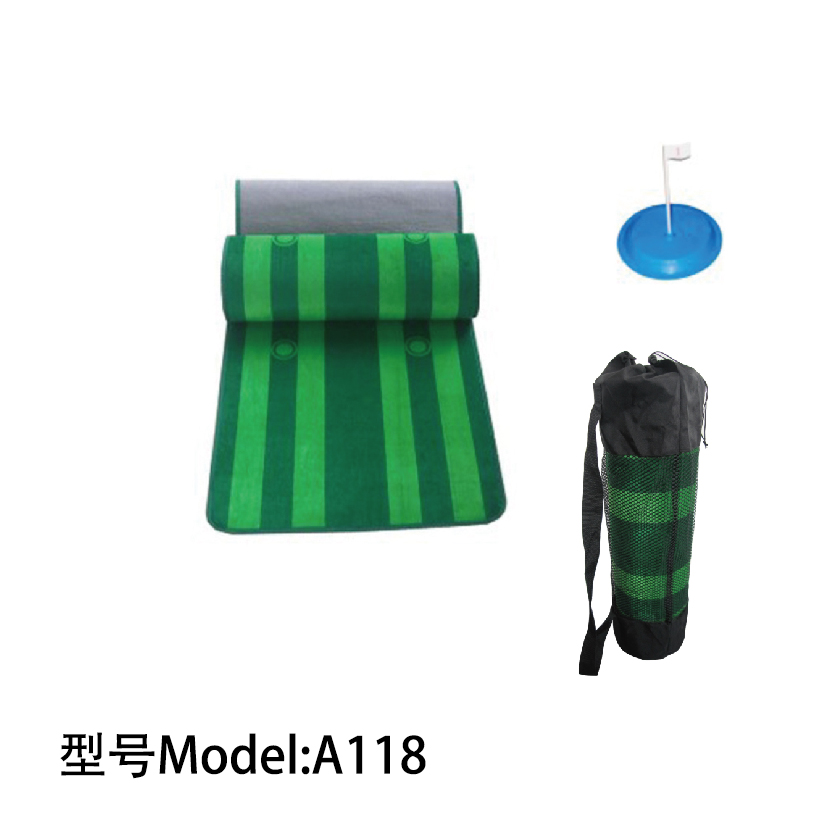Hotsale custom velvet indoor mini golf putting mat / High Quality Indoor Golf Simulator Wholesale A118