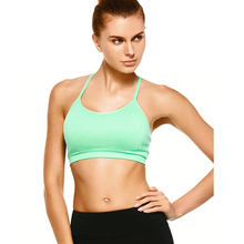 High Quality Ladies Womens Custom Blank Sexy Strappy Comfort Sports Bra