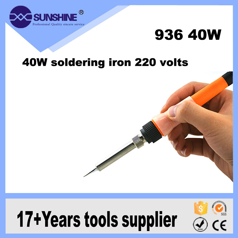 High quality 220v soldering iron with Ceramic heating element for jewellery