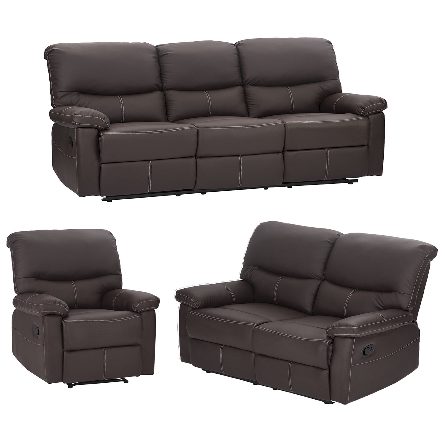 Admirable Buy Bestmassage Living Room Sofa Set Recliner Sofa Reclining Bralicious Painted Fabric Chair Ideas Braliciousco