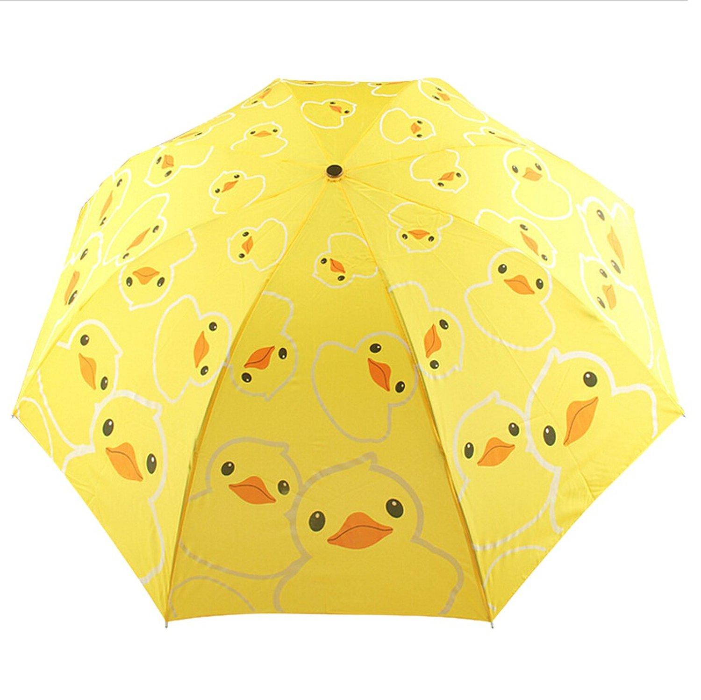 Umbrella Duck 5.75x 8 Quilting Stencil by QCI EL316