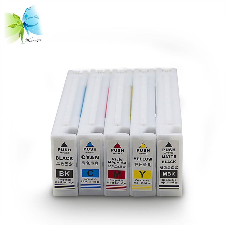Cartridge tinta printer untuk epson T3000 T5000 T7000 cartridge inkjet kompatibel