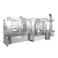 New Technology 16 to 20 BPH Bottle CSD Filling Machine for Carbonated drinks
