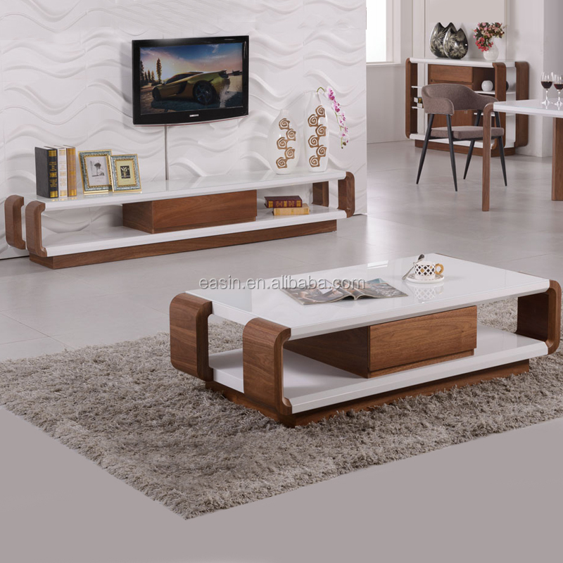 OEM modern design wooden tea table/coffee table