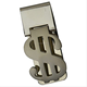 2016 New Model Dollar Sign Design Stainless Steel Money Clip
