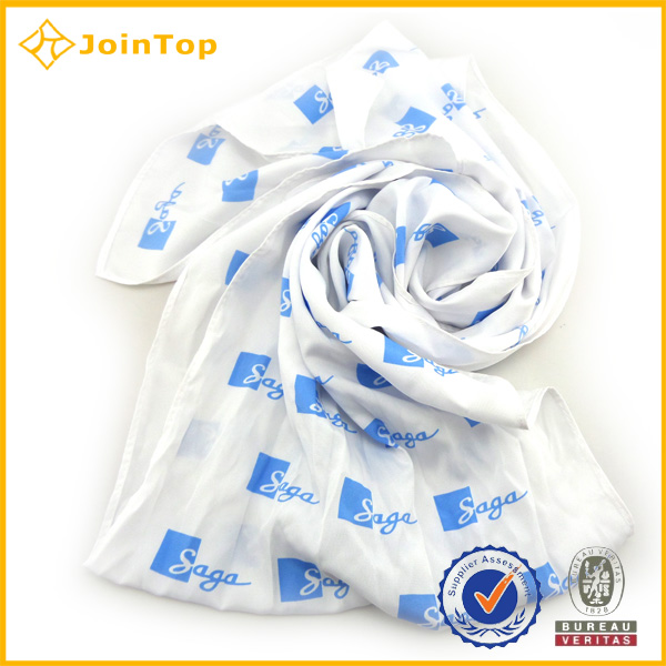 Wholesale Plain Silk Printed Scarve