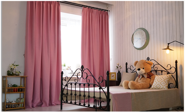 hot sale high quality ready made blackout window curtain for home