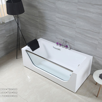 spa frestading bath tube factory sale in ghana massage bathtub 2