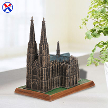 Custom resin germany famous building miniature gifts souvenir