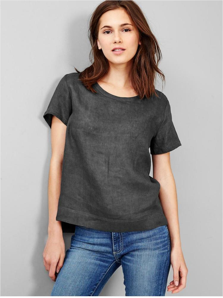 188671326c0 Wholesale 100% Linen Clothing Latest Fancy Tops For Girls - Buy Tops ...