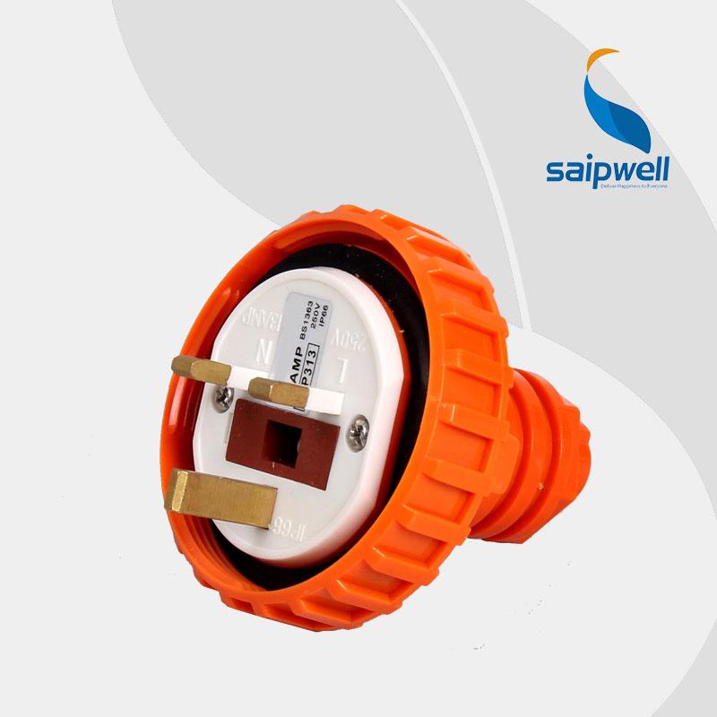 Electric 2014 New Waterproof Ip66 3 Pin Uk Plug 13a