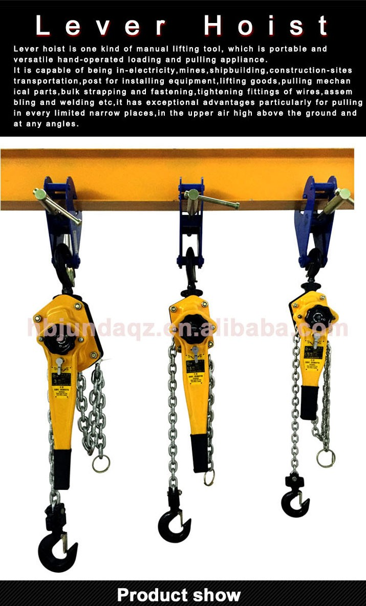 Ratchet Manual Lever Pull Lift Chain Hoist/1 5 Ton Lever Block/hand Tools  Lever Hoist For Sale - Buy Lever Chain Hoist,China Lever Block,Lever Chain