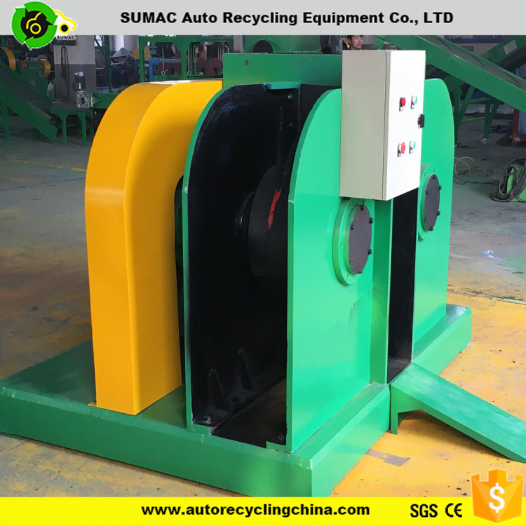 Rubber Powder Production Line For Scrap Tyre Recycling