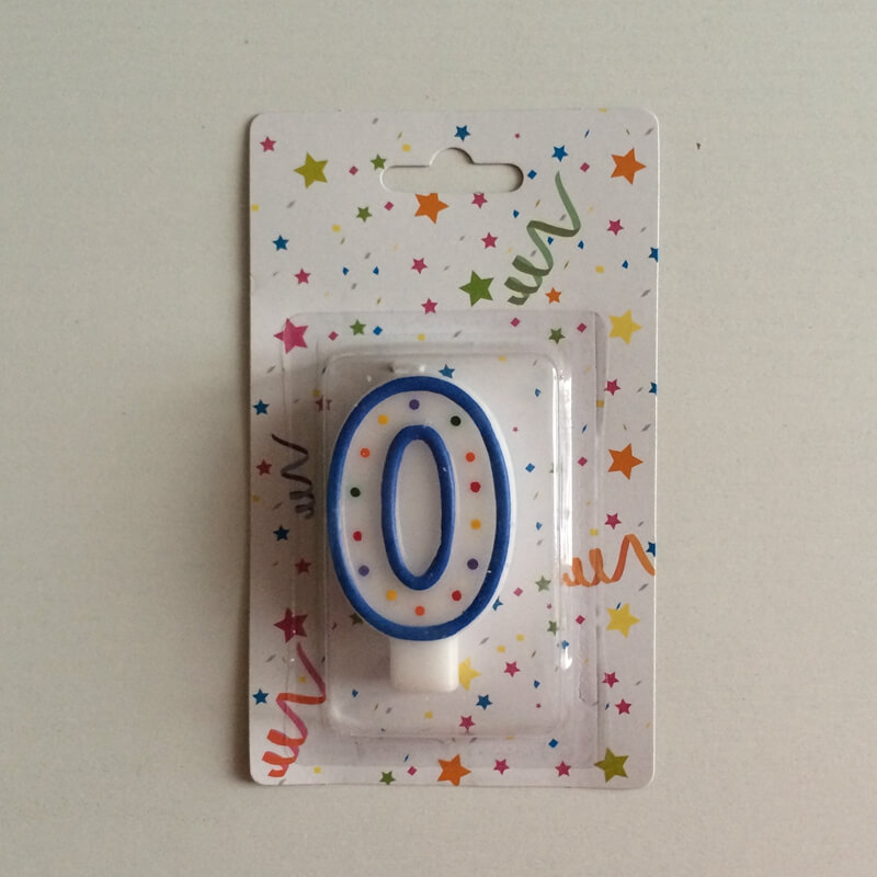 Number Birthday Gel Candles Wholesale
