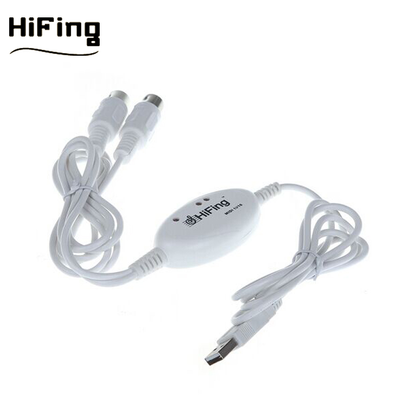 Hifing Midi Usb Cable To Music Keyboard - Buy Midi To Usb,Music Keyboard  Midi Cable,Pc Midi Cable Product on Alibaba com
