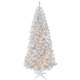 New Style Silver LED Christmas Tree,Metallized Christmas Tree