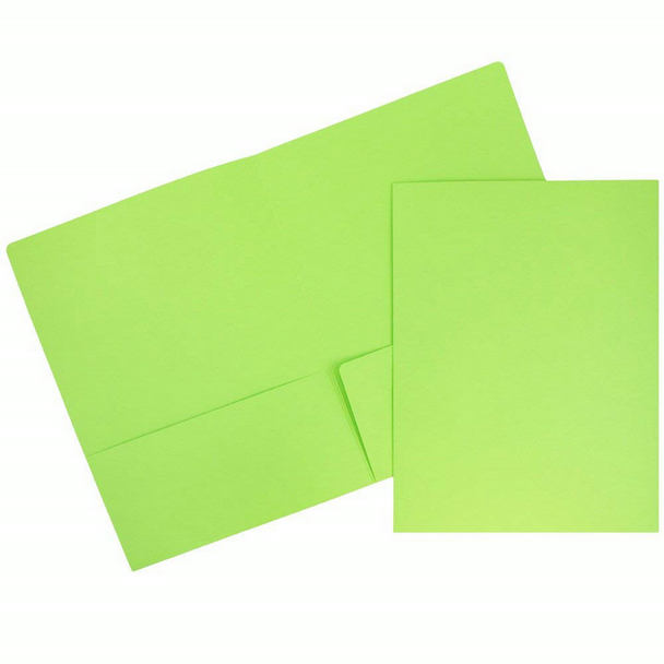 factory high quality A4 legal size manila kraft paper Matte Cardstock Twin Pocket assorted color Folders