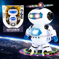 Electronic Walking Dancing Smart Robot Action figure Robocar Figures Music Light Dance Robot Brinquedos children s