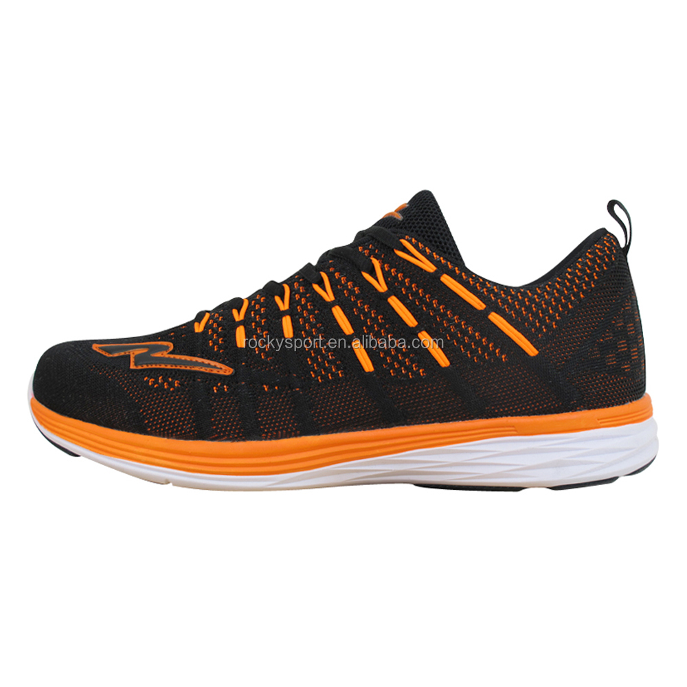 breathable shoes men knitting fabric running sports rwqr6SxT