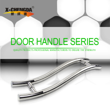 X-1118 Factory Price Fancy Hardware Handles Tempered Glass Shower Door Handle